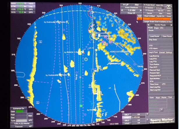 Schiffssimulation Navigation
